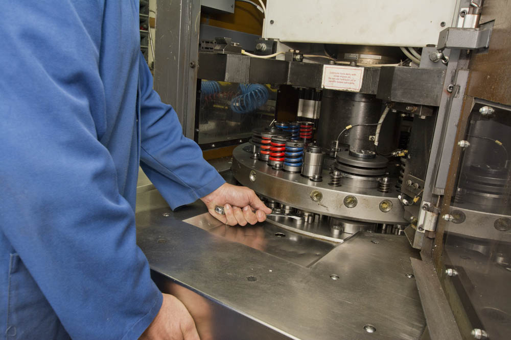 GP Precision CNC Punching In-House Services